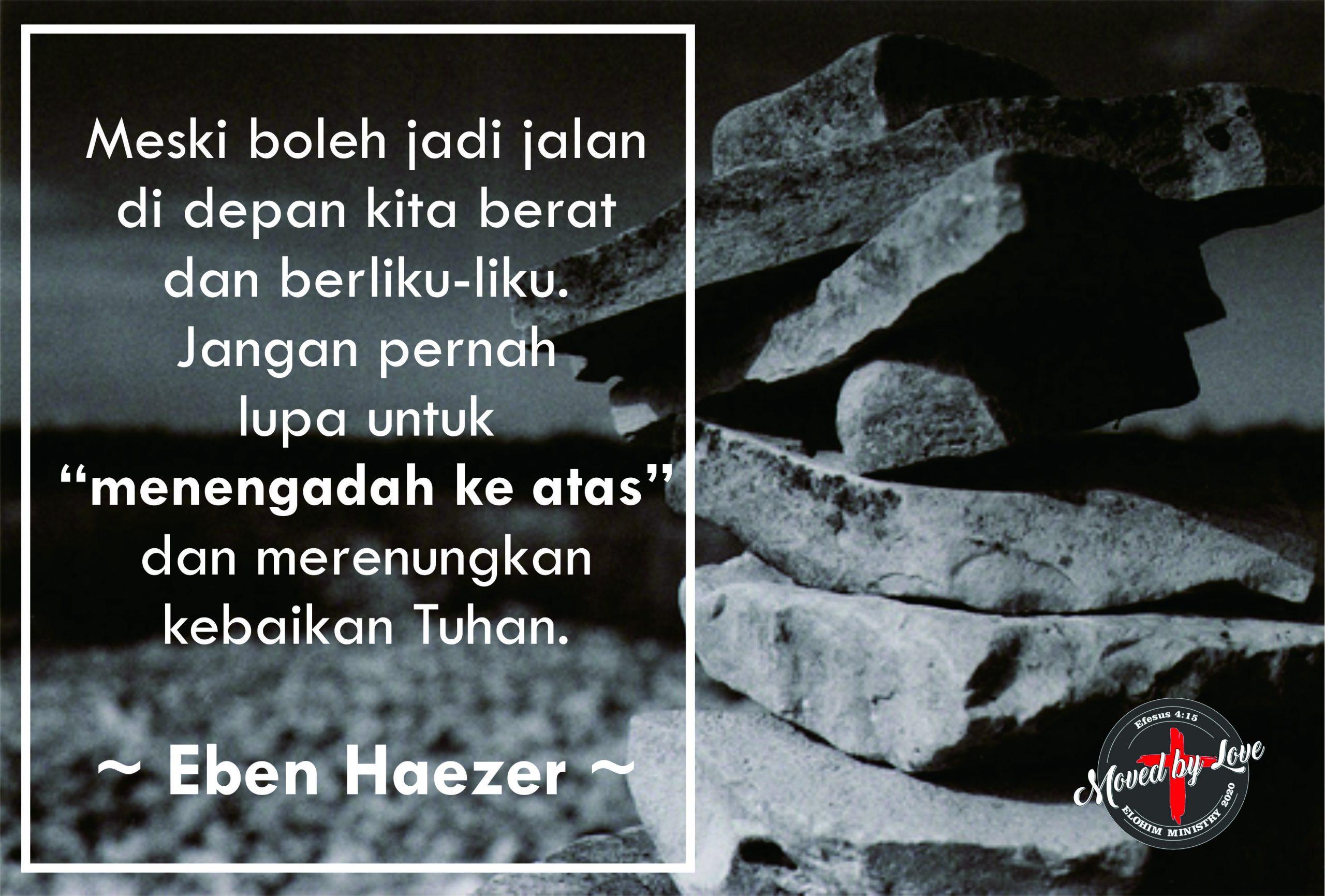 Eben-Haezer ~ Waktu perenungan