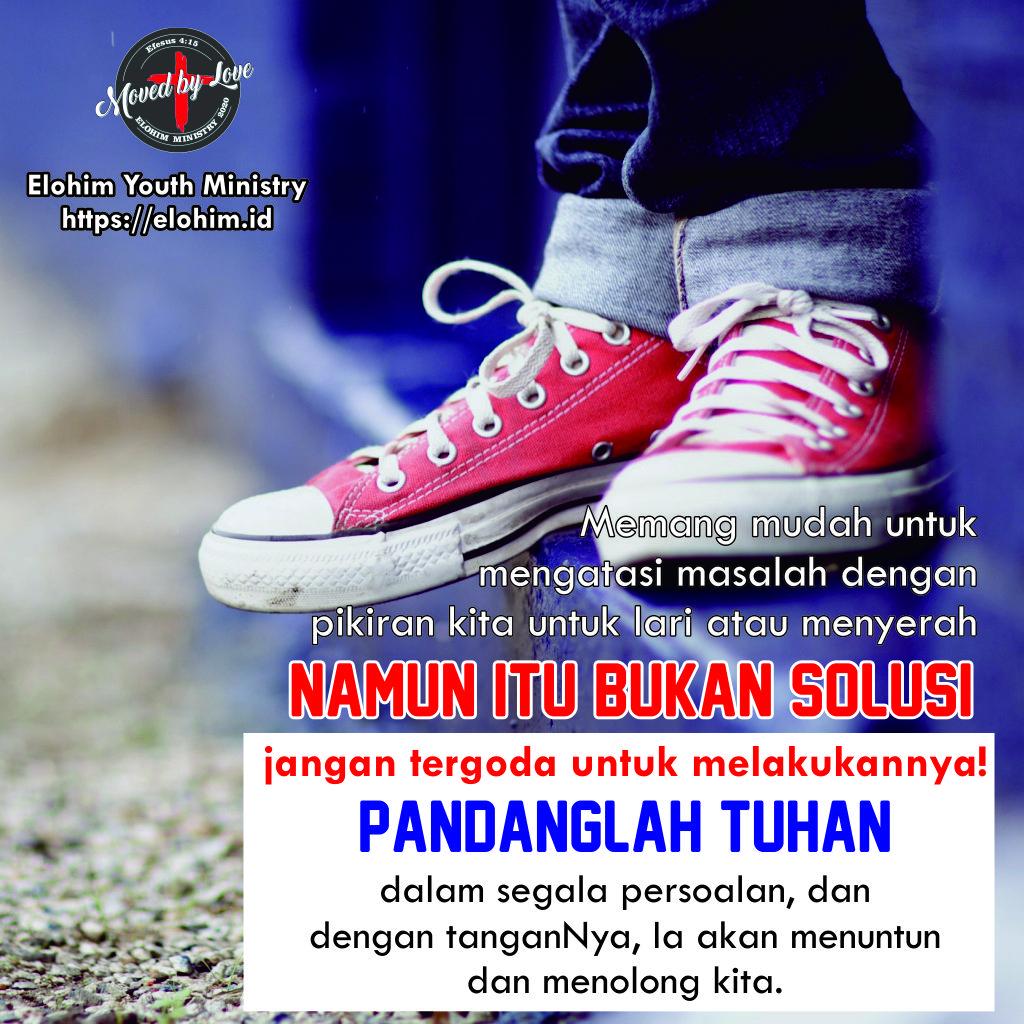 Pandanglah kepada Tuhan